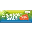 Summer Sale end of Season Banner Business vector image
