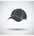 Baseball cap icon vector image