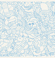 doodle hand drawn abstract vector image