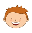 greek boy character icon vector image