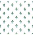 hug cactus pattern seamless vector image
