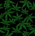 Marijuana pattern vector image
