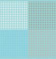 Seamless halftone dots vector image