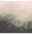 Abstract triangle textured background vector image