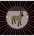 Portrait of a horse vector image