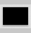 a2 black poster mock-up vector image