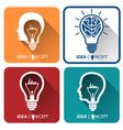 idea icons vector image