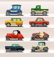 car icon set-5 vector image