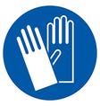 Wear gloves vector image vector image