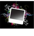 polaroid photo frame vector image vector image