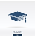 Education concept icon logo vector image