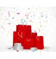 Sale celebration background concept vector image