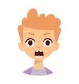 Redhead boy vector image