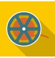 Reel icon flat style vector image
