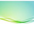 bright fresh modern spring line border template vector image
