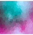 Triangle 2D geometric colorful background vector image