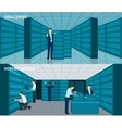 Datacenter Banner Set vector image