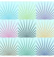 background The lights of a sun Eps 10 vector image