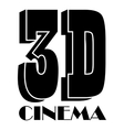 Cinema icon simple style vector image