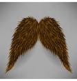 Brown Mustache vector image