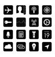 touchscreen smart phone mobile app button vector image