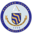 Harford County vector image