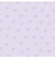 heart violet vector image vector image
