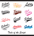 Tails of the Script vector image