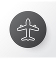 air transport icon symbol premium quality vector image