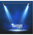 spotlight light effectscene illumination vector image