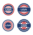 Seals USA vector image