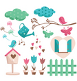 garden drawings vector image