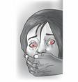 kidnap victim vector image