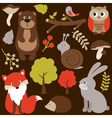 Woodland Animals vector image