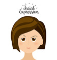 expression facial vector image