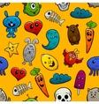 Graffiti Characters Seamless Ornament vector image