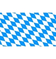 Bavaria and Oktoberfest flag pattern or background vector image