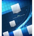 Glue geometry lines background vector image