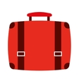 suitcase isolated icon design vector image
