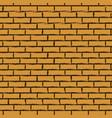 black outline brick wall vector image