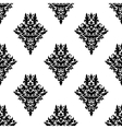 Damask seamless retro pattern vector image vector image
