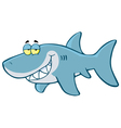 Happy Shark vector image vector image