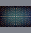 infinity data matrix visualization vector image