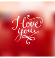 Romantic Valentines Card vector image
