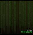 Matrix background vector image