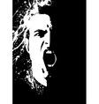 ink guy vector image