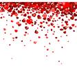 confetti hearts vector image