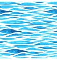 Seamless horizontal sea background vector image