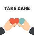 take care business vector image