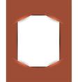 Emplty slot-in document vector image